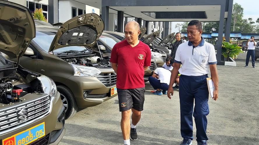 Wadan Pasmar 3 Sorong Laksanakan Pengecekan Dan  Pemeriksaan Randis Jabatan