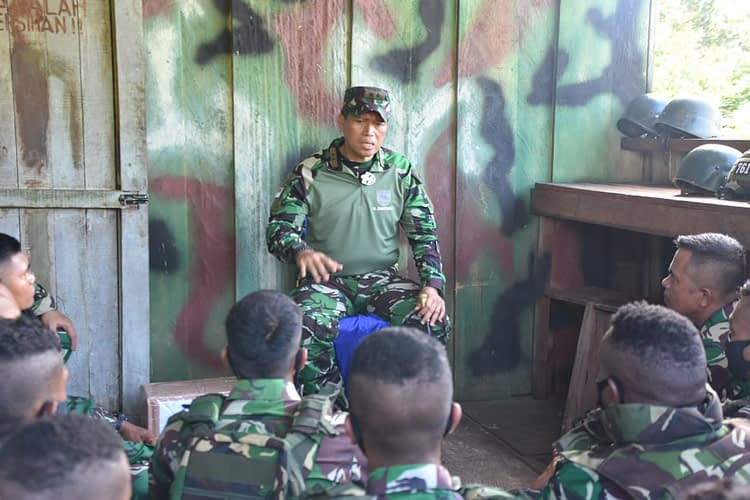 Pangdam XVIII/Kasuari : Saya bangga, Kalian adalah prajurit yang Terpilih dan Profesional.