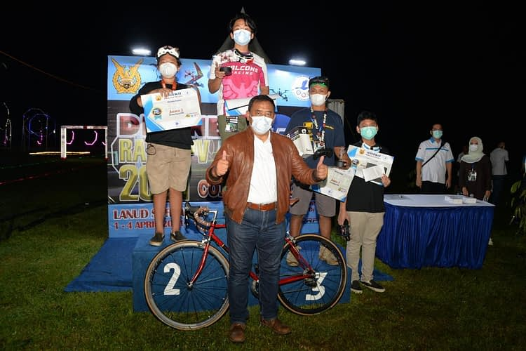 TNI AU Gelar Lomba Drone Race FPV Competition 2021