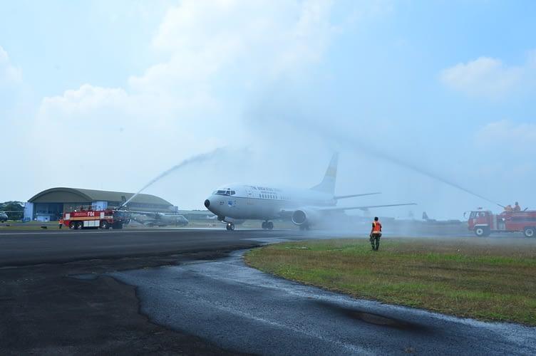 Latihan Hanudnas Perkasa 2020,   F-16 TNI AU Paksa Mendarat Pesawat Asing di Lanud Halim Perdanakusuma