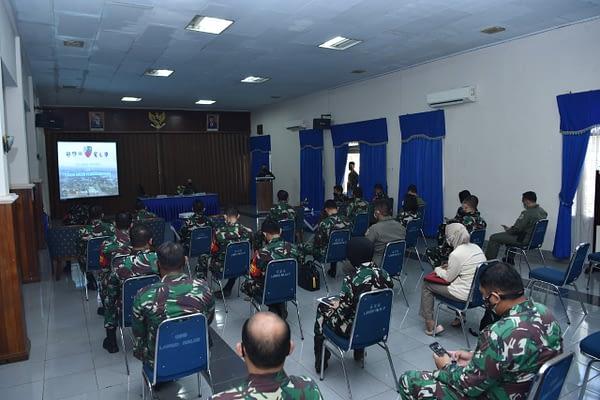 Tim Internal TNI AU Adakan Bimtek dan Penilaian  Pembangunan Zona Integritas di Lanud Halim