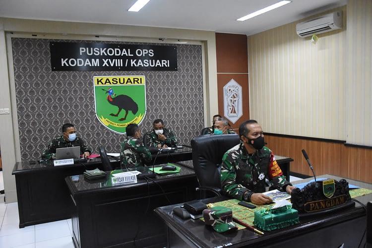 Purnawirawan, Istri, dan Warakawuri TNI AD Segera Divaksin AstraZeneca