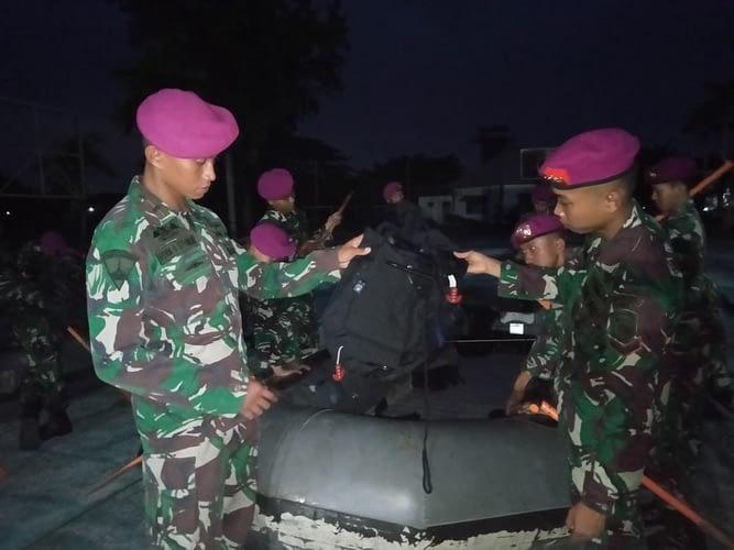 Menbanpur 2 Marinir Siapkan prajurit Siaga bencana banjir
