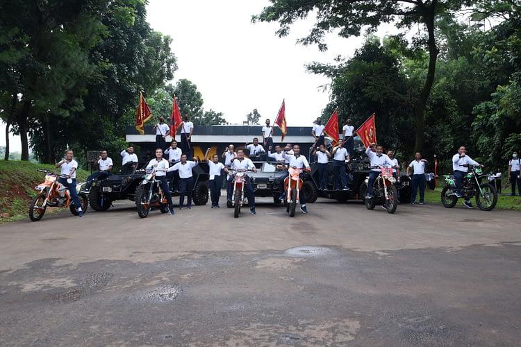 Danpasmar 1 Ikuti Olahraga Bersama Kasal dan Perwira Korps Marinir Wilayah Jakarta