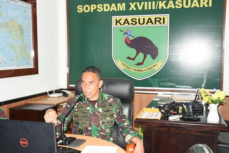 Asops Kasdam XVIII/Kasuari Pimpin Seleksi Tingkat Daerah, Joint Readiness Training Center (JRTC) Rotation 21-01 TNI AD dan AD AS