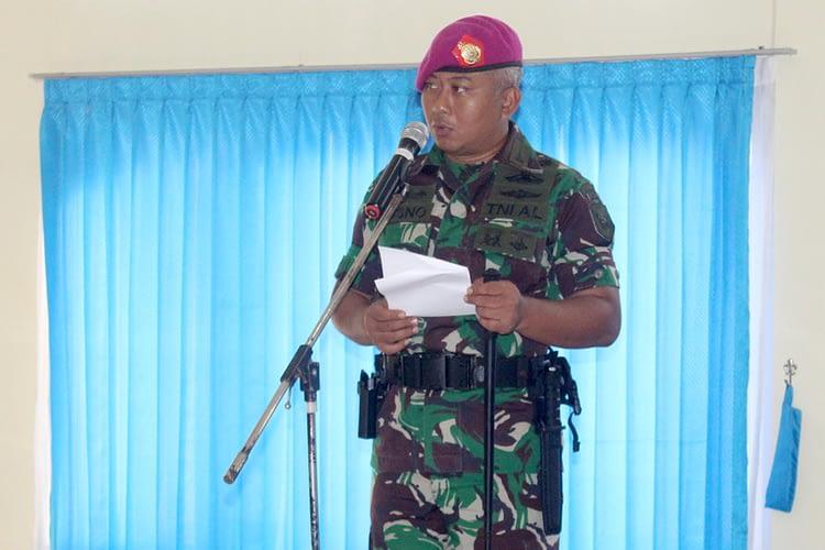 "24 Prajurit ""Rakca Bhuana Cakti"" Batalyon Arhanud 2 Marinir Naik Pangkat"