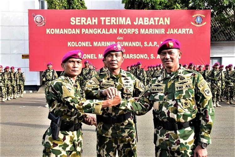 Jabatan Komandan Lanmar Jakarta Diserahterimakan