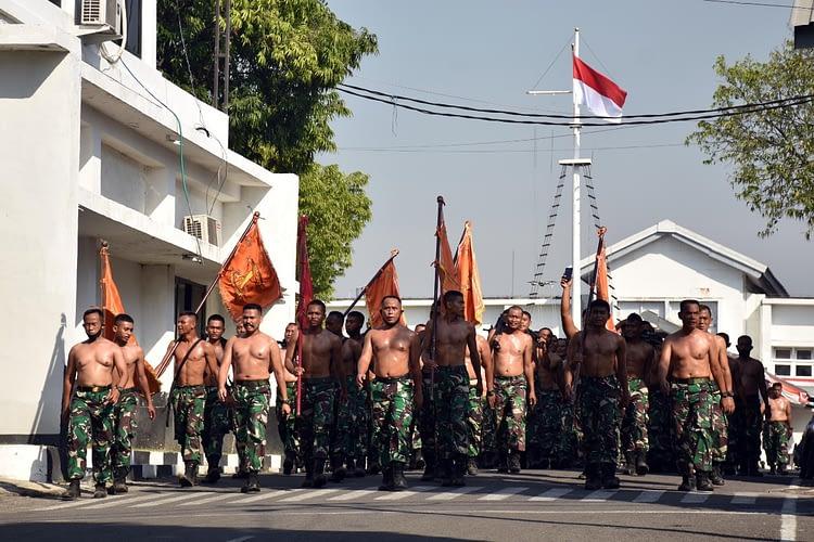 Danmenart 2 Marinir Pimpin Apel Organik Di Gun Park   Resimen Artileri 2 Marinir