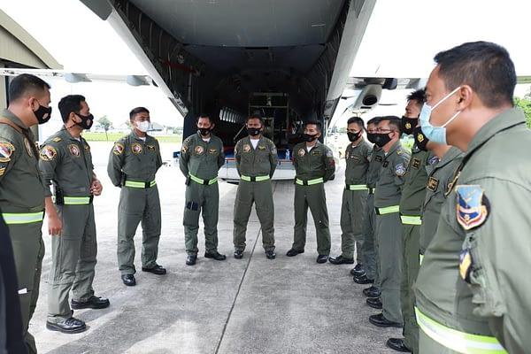 Cegah Bencana Hidrometeorologi Jabodetabek, TNI AU dan BPPT Bersinergi Memodifikasi Cuaca