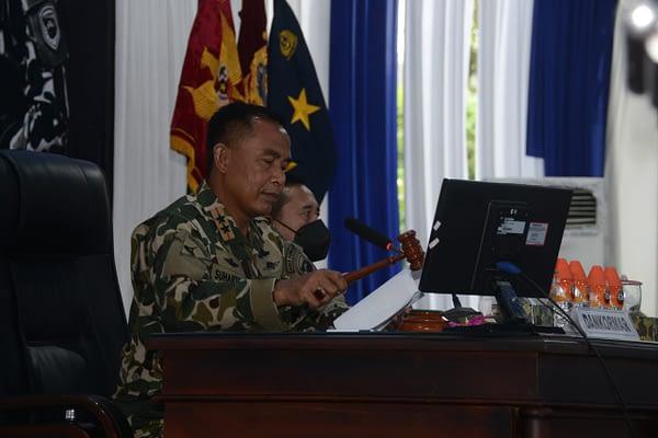 Di Pantai Baruna Malang, Marinir Rapat Komando dan Apel Komandan Satuan
