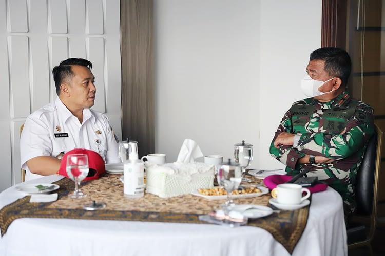 Danpasmar 1 Laksanakan Coutresy Call ke Walikota Jakarta Utara