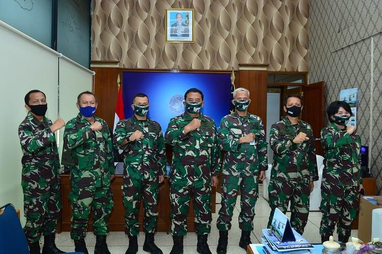 Mantan Liasion Officer Kostrad, Jabat  Kasubdispenum Dispenau