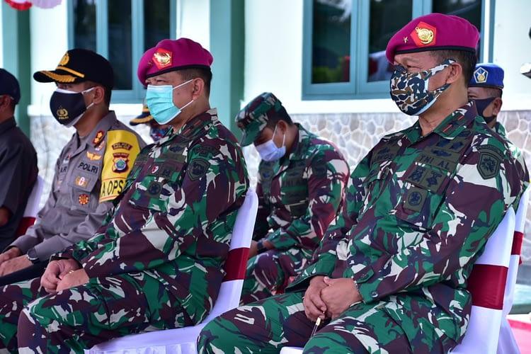 Pertebal Iman dan Taqwa, Prajurit Yonif 3 Marinir Laksanakan Pembinaan Rohani