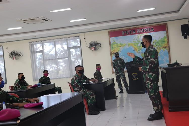 Pasmar 3 Gelar Seleksi Personil Satgas Pam Puter XXIV Wilayah Timur