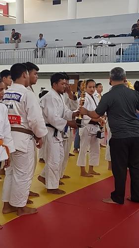 Judoka Yonif 4 Mar Raih Juara I Kejuprov Kaltim 2020