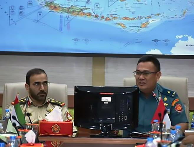 Kapuskersin TNI Terima Delegasi Pasis Seskogab Angkatan Bersenjata UEA