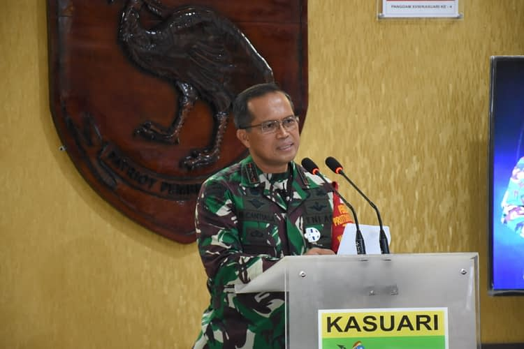 Pangdam XVIII/Kasuari: Mari Kita Tetap Selalu Menjaga Perdamaian, Persatuan dan Kesatuan di Tanah Papua Barat