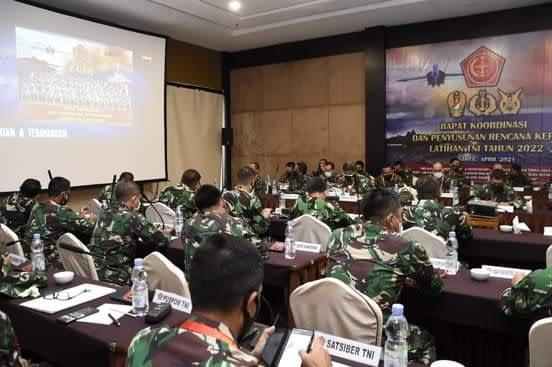 Asops Panglima TNI : Atasi Kendala dan Manfaatkan Peluang Untuk Antisipasi Kemungkinan yang Terjadi