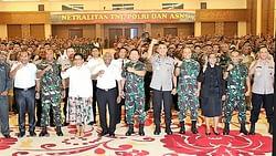 DANPASMAR 3 SORONG HADIRI APEL SINERGITAS TNI, POLRI DAN ASN