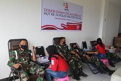 Donor Darah Pomdam XVIII/Kasuari