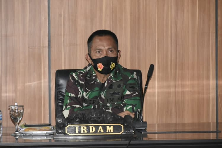 Irdam XVIII/Kasuari Pimpin Rakor Wasrik Current Audit Itjenad TA 2020