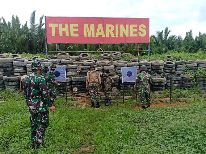 Pertajam Dan Perkuat Skill, Yonmarhanlan XII Gelar Latihan Menembak