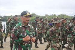 Yonif 764/IB Kembali Gelar Baksos di Daerah Latihannya, Kali ini di Kampung Tanggaromi, Kaimana