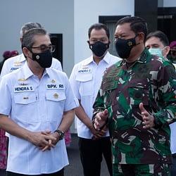 Kepala Staff TNI Angkatan Laut Menerima Kunjungan Tim BPK RI