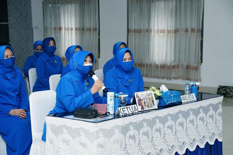 Ketua Korcab Pasmar 1 Ikuti Peringatan Maulid Nabi Muhammad SAW 1442 H Secara Virtual
