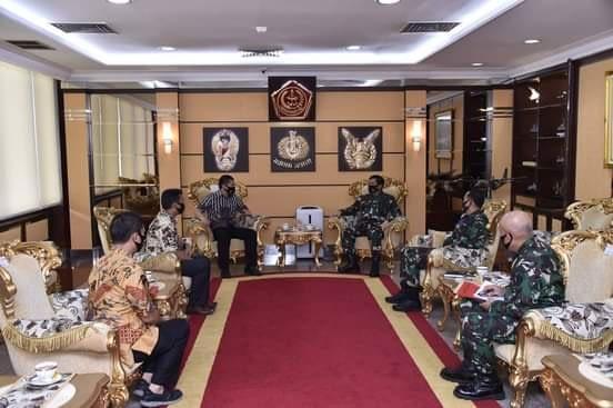 Panglima TNI Terima Audiensi Pengurus PB FORKI