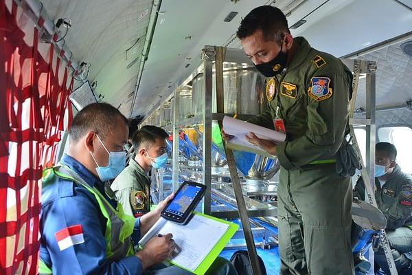 Sampai Hari Keenam Modifikasi Cuaca, TNI AU dan BPPT Semai Hingga 22 Ton NaCl