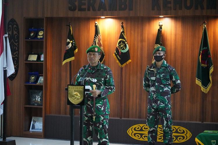 Selamat, 597 Personel Kodam XVIII/Kasuari 1 Oktober 2020 Naik Pangkat