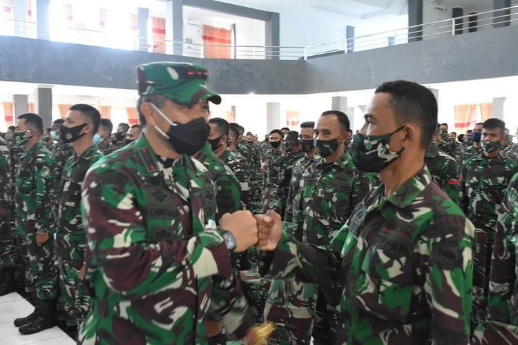 Pangdam XVIII/Kasuari: Kehadiran Satuan BKO Teritorial untuk Bantu Atasi Berbagai Permasalahan di Daerah