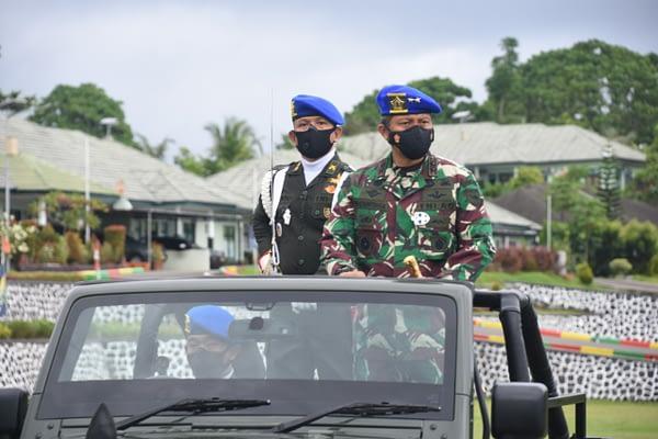 Dimulai, Operasi Gaktib Dan Yustisi Polisi Militer 2021 di Wilayah Kodam XVIII/Kasuari