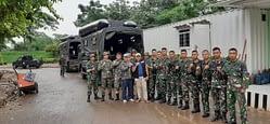 Yon Kapa 1 Mar Didirikan Posko Banjir di Bekasi