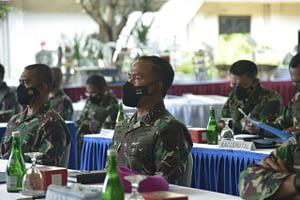 Dankormar Hadiri Pembukaan Latihan Armada Jaya ke- XXXIX 2021