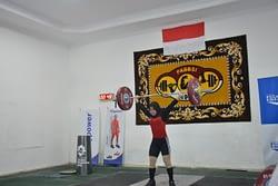 Aspers Dankormar Menghadiri Progres Tes Atlet Angkat Besi