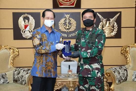Panglima TNI Terima Penyerahan Rehabilitasi Sarana dan Prasarana TNI