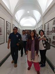 Kadispenau  Kunjungan Indian Air Force Museum