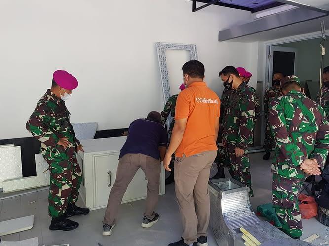 Komandan Korps Marinir Kunjungi Markas Komando Lanmar Jakarta