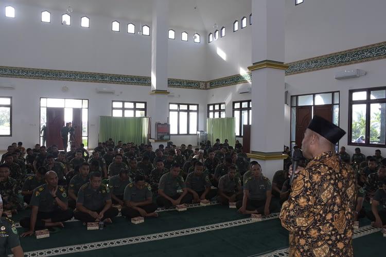 Baznas Manokwari Sosialisasi Pengelolaan Zakat ke Kodam XVIII/Kasuari
