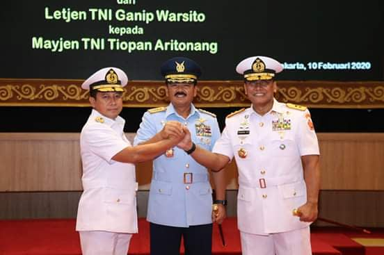 Panglima TNI Pimpin Sertijab Danjen Akademi TNI dan Asops TNI