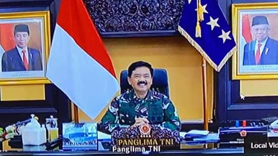 Panglima TNI : TNI dan LVRI Bantu Percepat Penanganan Covid-19