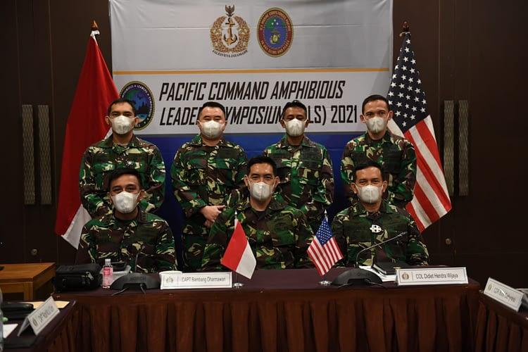 Korps Marinir Ikut dalam Pacific Command Amphibious Leaders Symposium (PALS) 2021