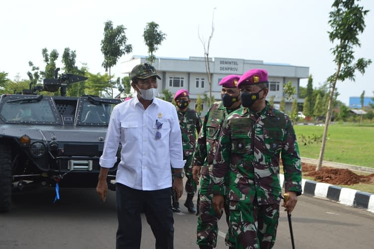 Pasmar 1 Terima Kunjungan Kerja Wakil Ketua DPD RI