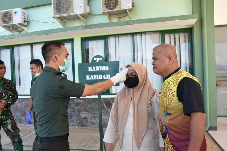Kodam XVIII/Kasuari Gandeng KKP Cegah Masuknya Virus Corona Ke Manokwari, Papua Barat