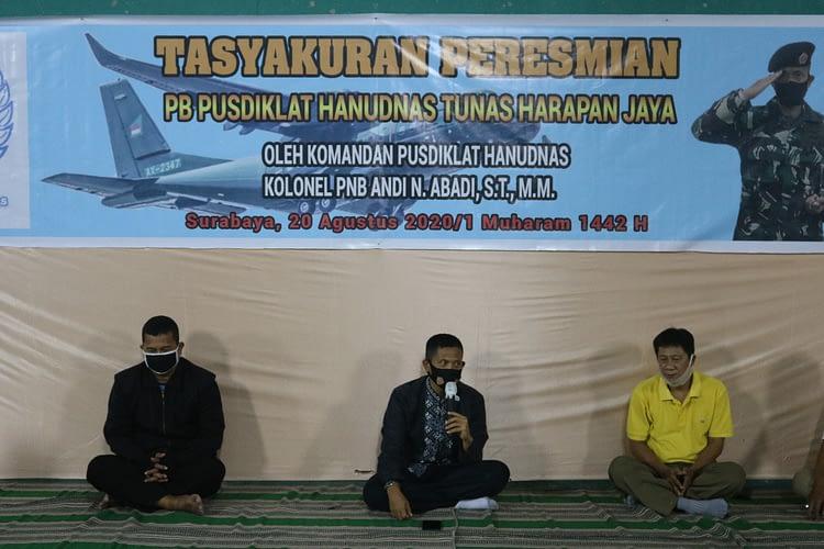Syukuran Peresmian Persatuan Bulutangkis Pusdiklat  Hanudnas  Tunas  Harapan  Jaya Surabaya
