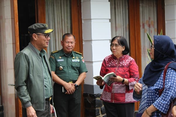 TNI AD dan UI Bahas Kerja sama Konstruksi Alat Ukur Rekrutmen Prajurit