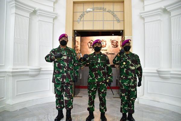 Jabatan Kepala Akuntansi Korps Marinir Diserahterimakan