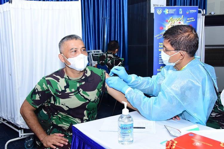 Vaksinasi Covid-19 Tahap Kedua, Utamakan Satuan Operasi TNI AU